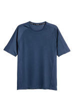 Ultralicht loopshirt - Donkerblauw - HEREN | H&M BE 2