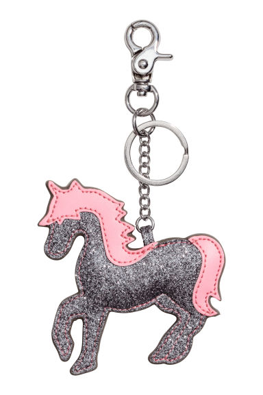 Keyring - Dark grey/Unicorn - Ladies | H&M