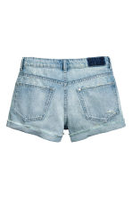 Denim shorts Boyfriend - Light denim blue - Ladies | H&M 3