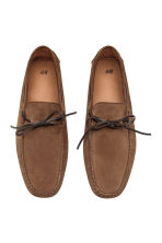 Suede moccasins - Brown - Men | H&M CN 2