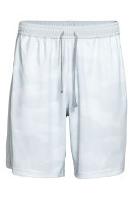Knee-length sports shorts - White/Patterned - Men | H&M 2