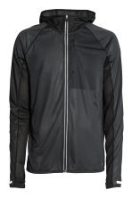 Ultra-light running jacket - Black - Men | H&M CN 2