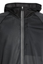 Ultra-light running jacket - Black - Men | H&M GB 3