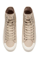 Hi-top trainers - Beige - Men | H&M 2