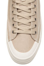 Hi-top trainers - Beige - Men | H&M 3