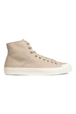 Hi-top trainers - Beige - Men | H&M 1