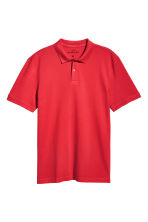 Polo shirt - Bright red - Men | H&M CA 2