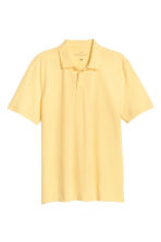 Polo shirt - Yellow - Men | H&M CA 2