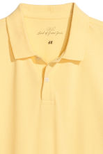 Polo shirt - Yellow - Men | H&M CA 3