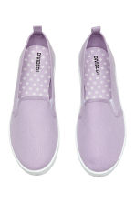 Sneakers slip-on in tela - Lilla - DONNA | H&M IT 2