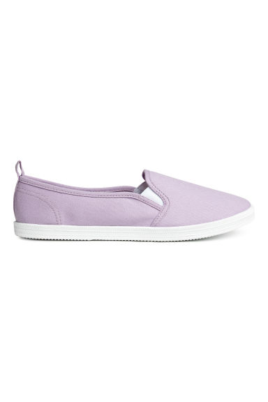 Sneakers slip-on in tela - Lilla - DONNA | H&M IT 1