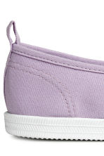 Sneakers slip-on in tela - Lilla - DONNA | H&M IT 4