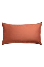Washed cotton pillowcase - Orange - Home All | H&M IE 2