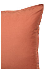 Washed cotton pillowcase - Orange - Home All | H&M IE 4