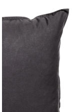Washed cotton pillowcase - Anthracite grey - Home All | H&M IE 3
