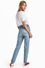 Straight High Waist Jeans - Light denim blue - Ladies | H&M 5