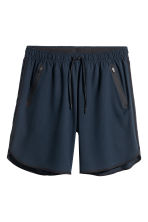 Sports shorts - Dark blue - Men | H&M 1