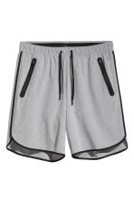 Sports shorts - Grey marl - Men | H&M CN 2