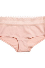 Shortie 3件入內褲 - Powder pink - Ladies | H&M 5