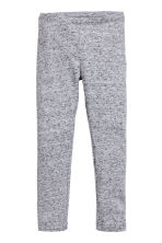 Jersey leggings - Light grey marl -  | H&M CN 2