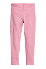 Jersey leggings - Pink - Kids | H&M CN 2