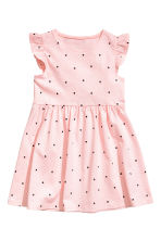 Jersey dress - Light pink/Heart - Kids | H&M 2