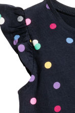 Jersey dress - Dark blue/Spotted - Kids | H&M 2