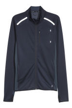 Running jacket - Dark blue - Men | H&M 2