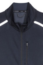 Running jacket - Dark blue - Men | H&M 4