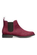Chelsea boots - Burgundy - Ladies | H&M 1