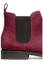 Chelsea boots - Burgundy - Ladies | H&M 4