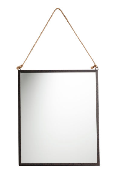 Espejo rectangular - Negro - HOME | H&M ES 1