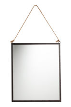 Rectangular Mirror - Black - Home All | H&M CA 1