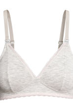 MAMA 2件入哺乳胸罩 - Dark grey/Light grey - Ladies | H&M 4
