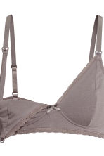 MAMA 2-pack nursing bras - Pink/Grey - Ladies | H&M 4