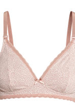 MAMA 2件入哺乳胸罩 - Pink/Grey - Ladies | H&M 3