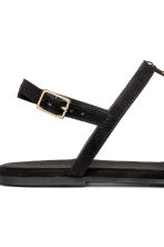 Studded sandals - Black - Ladies | H&M 3