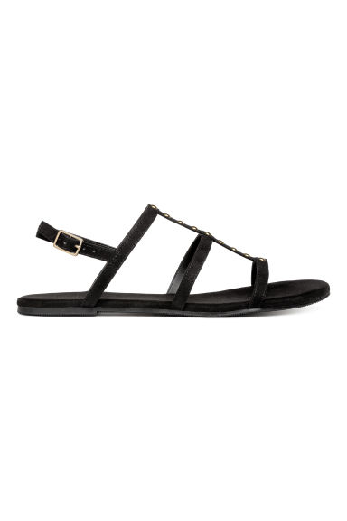 Studded sandals - Black -  | H&M IE