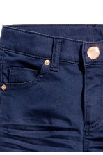 Twill trousers - Dark blue - Kids | H&M CN 2