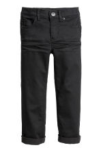 Twill trousers - Black - Kids | H&M 2