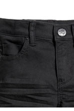 Twill trousers - Black - Kids | H&M 3