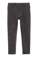 Jersey treggings - Dark grey/Stars -  | H&M 2
