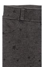Jersey treggings - Dark grey/Stars -  | H&M 3