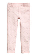 Jersey treggings - Light pink/Heart - Kids | H&M CN 2