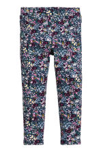 Jersey treggings - Dark blue/Floral - Kids | H&M 2