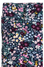 Jersey treggings - Dark blue/Floral - Kids | H&M 3