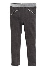 Treggings - Dark grey marl -  | H&M CA 2