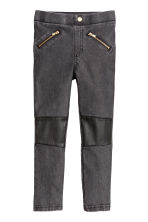 Treggings - Black washed out -  | H&M 2
