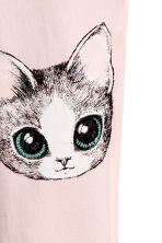 Jersey leggings - Light pink/Cat - Kids | H&M CA 3