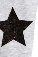 Jersey leggings - Light grey/Stars - Kids | H&M 3